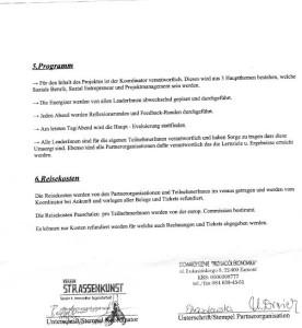 Projektvereinbarung S2